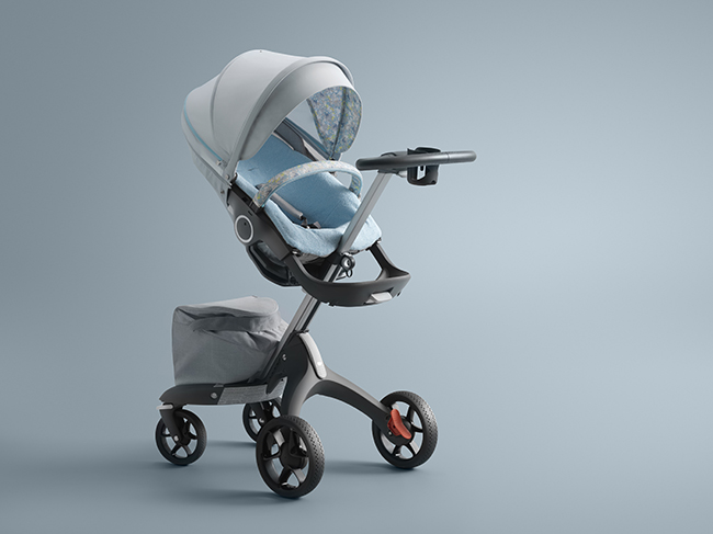 Stokke Stroller Summer Kit Flora Blue